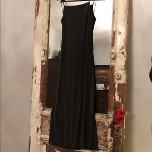 💥 Shimmer in this black Event Dress